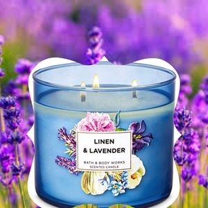 "NEW ""Linen & Lavender"" Candle"